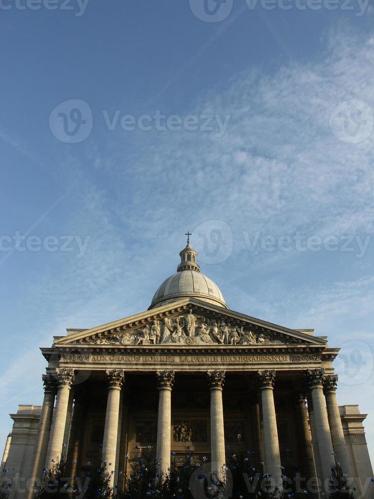 pantheon in Parijs foto