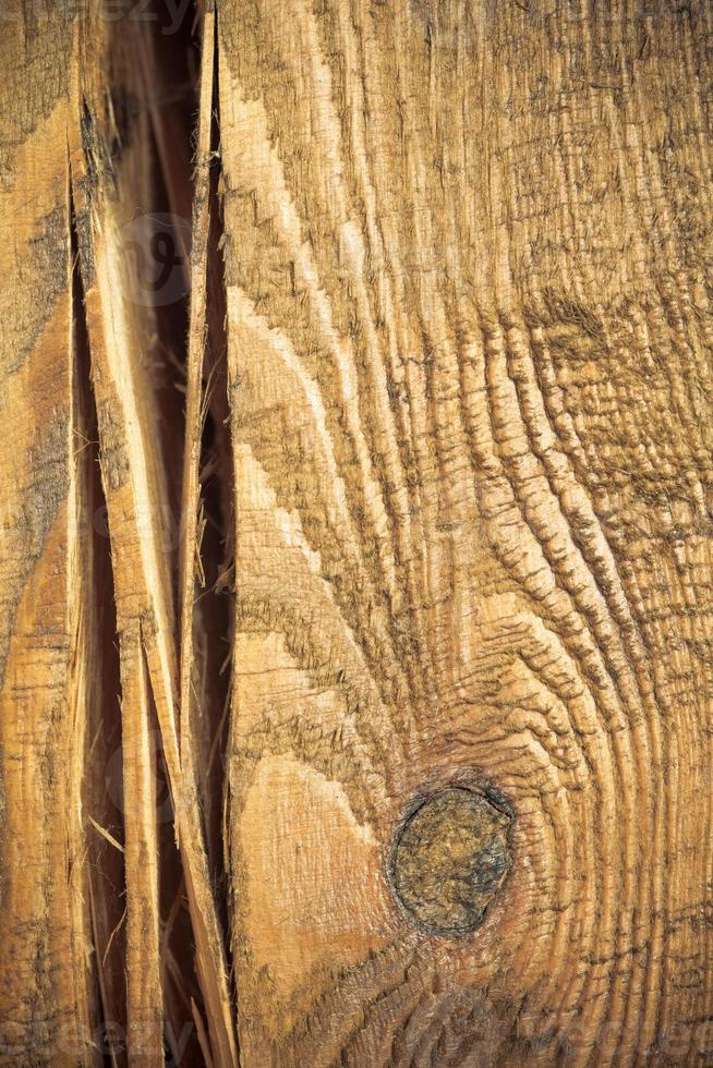 houten muur als bruine achtergrond of textuur foto
