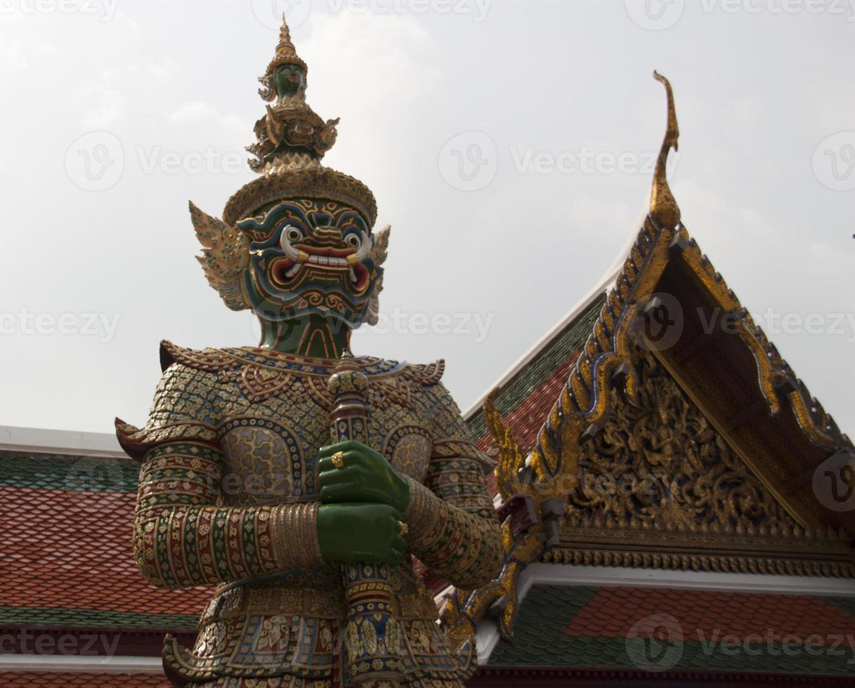 Aziatische standbeeld foto