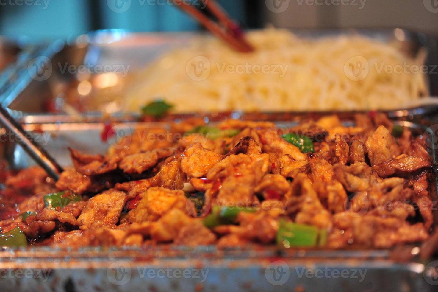 Aziatisch buffet foto
