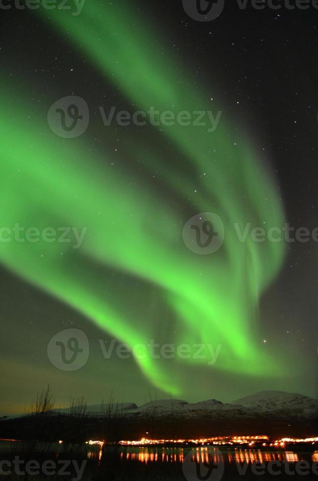 noorderlicht in noord-noorwegen foto