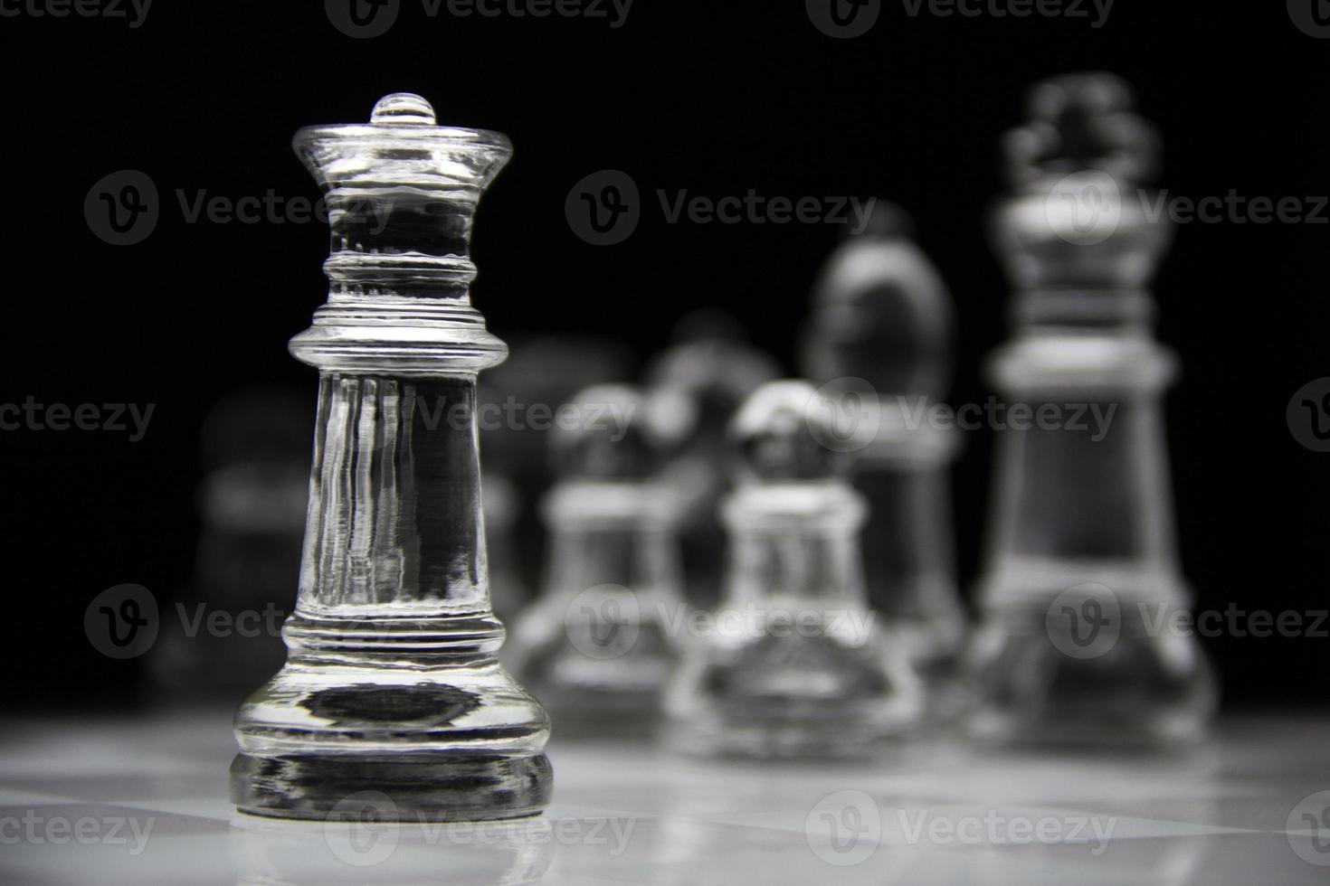 koningin schaakstuk foto