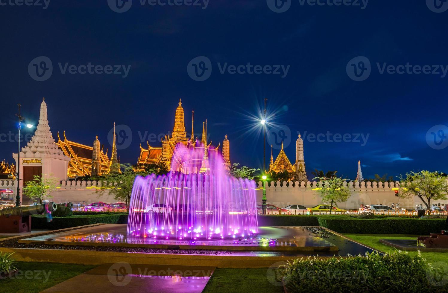 Aziatische tempel van thailand foto