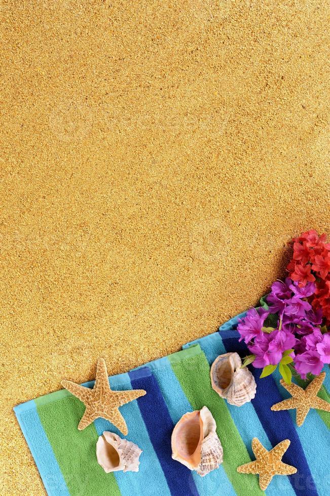 Hawaii zomer strand achtergrond verticaal foto