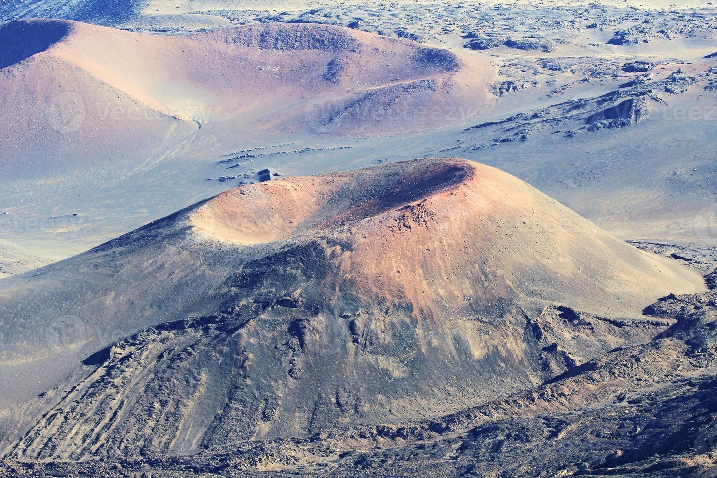 geërodeerde kama olii krater foto