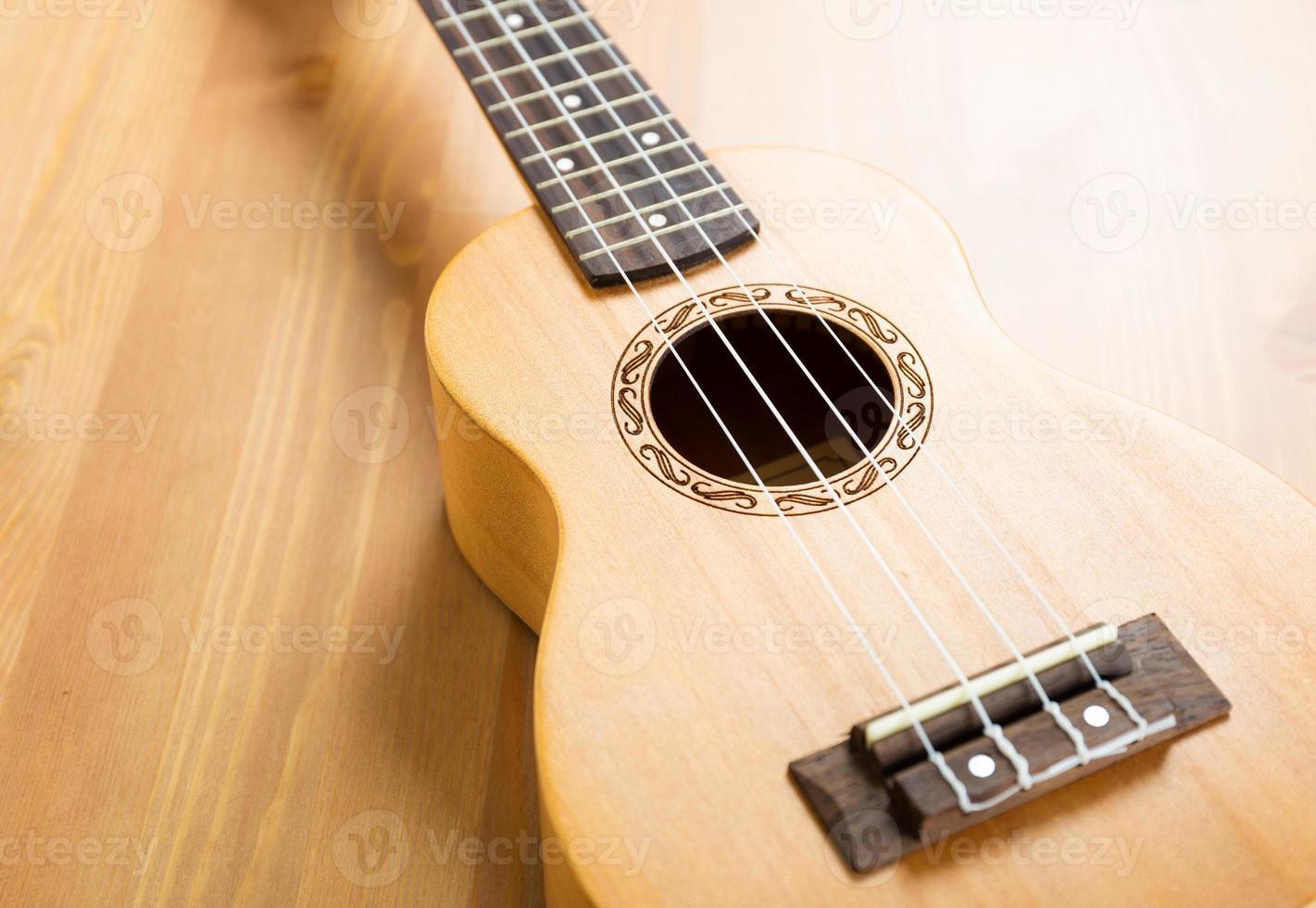 houten ukelele foto