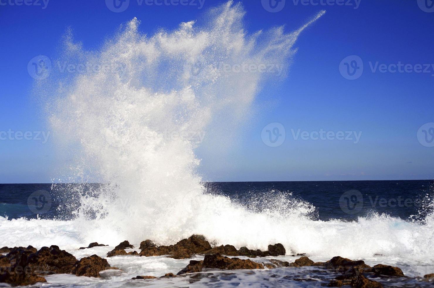 strand van Tenerife foto