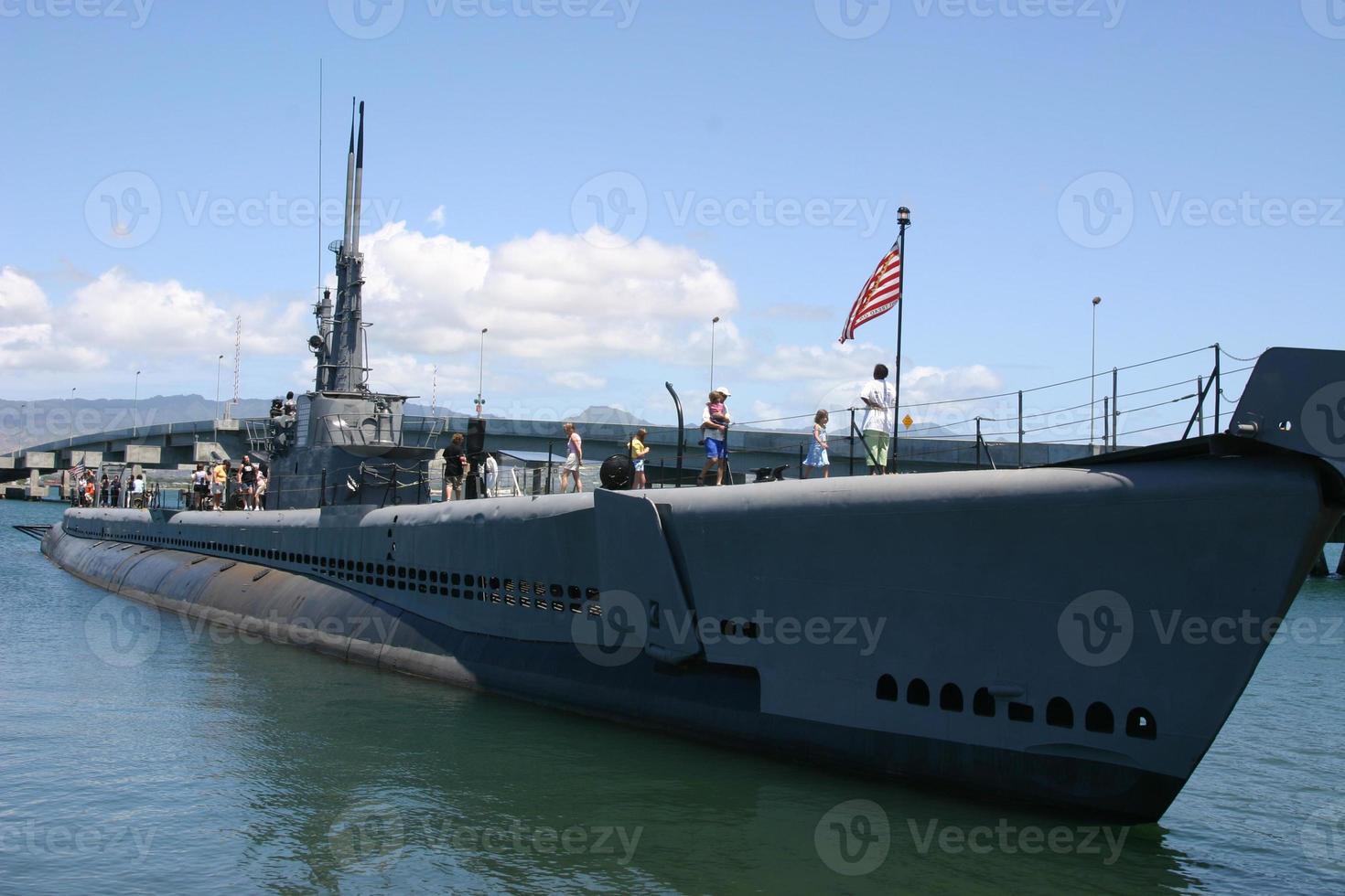 onderzeeër uss bowfin foto