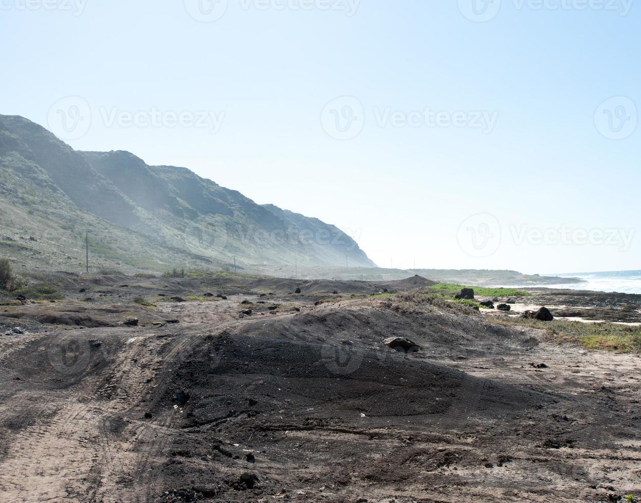 Ka'ena Point, Oahu, Hawaï foto