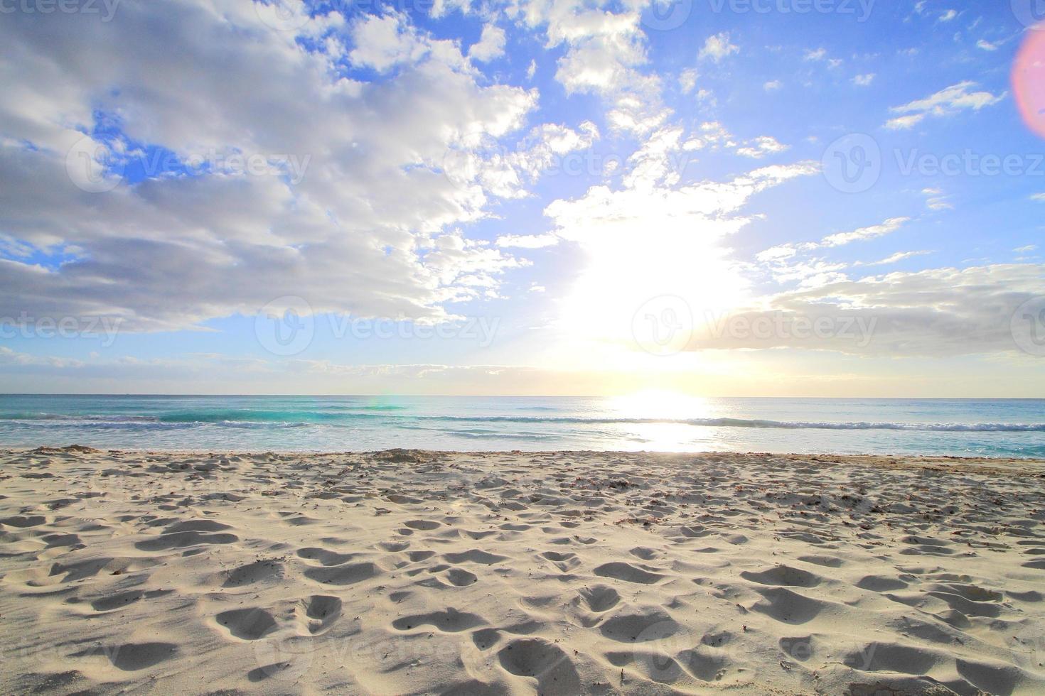 Caribische oceaan foto