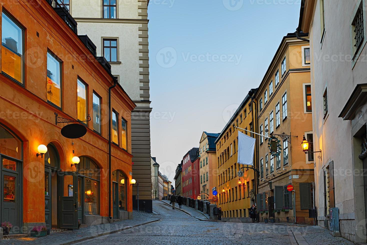gamla stan in stockholm foto