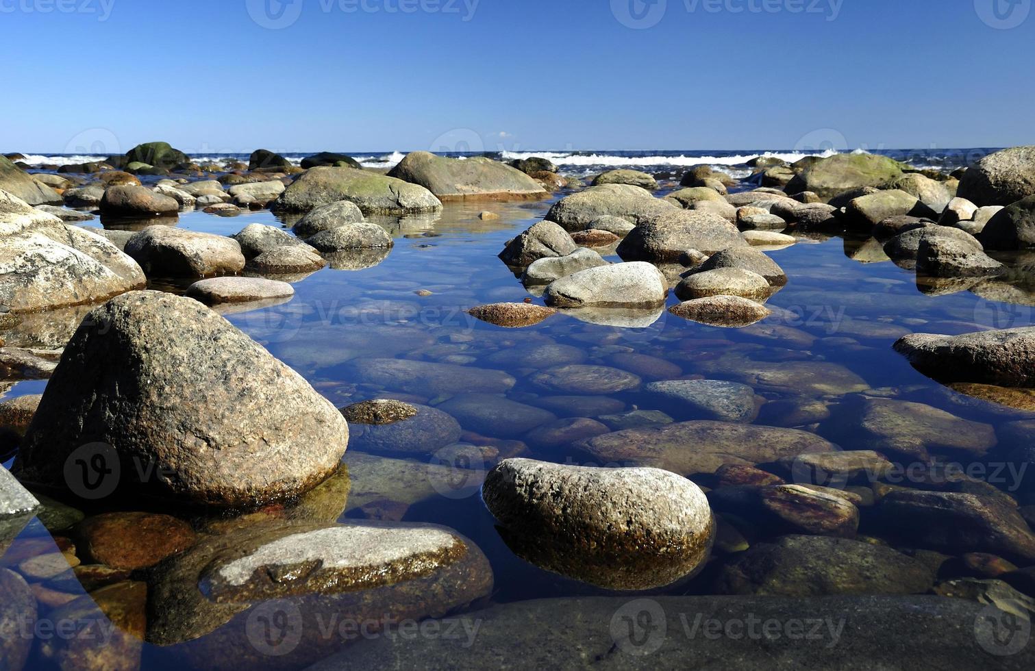 specifieke Zweedse kust foto