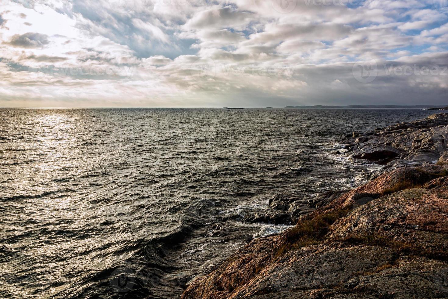 uitzicht over de oceaan foto