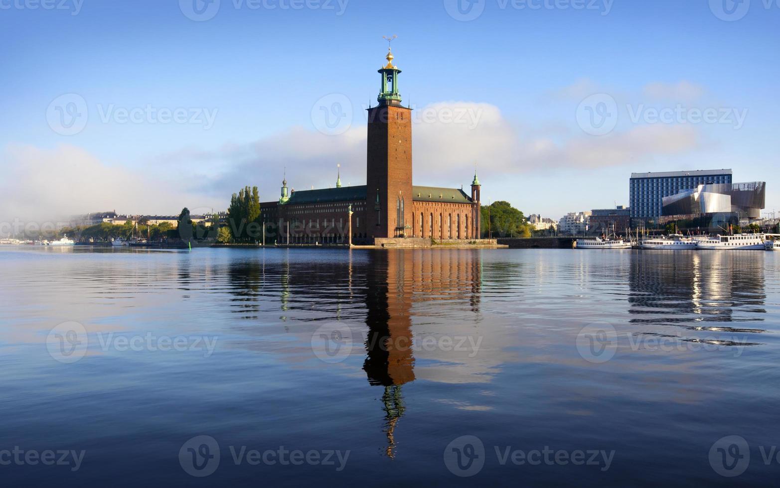 het stadhuis, Stockholm foto