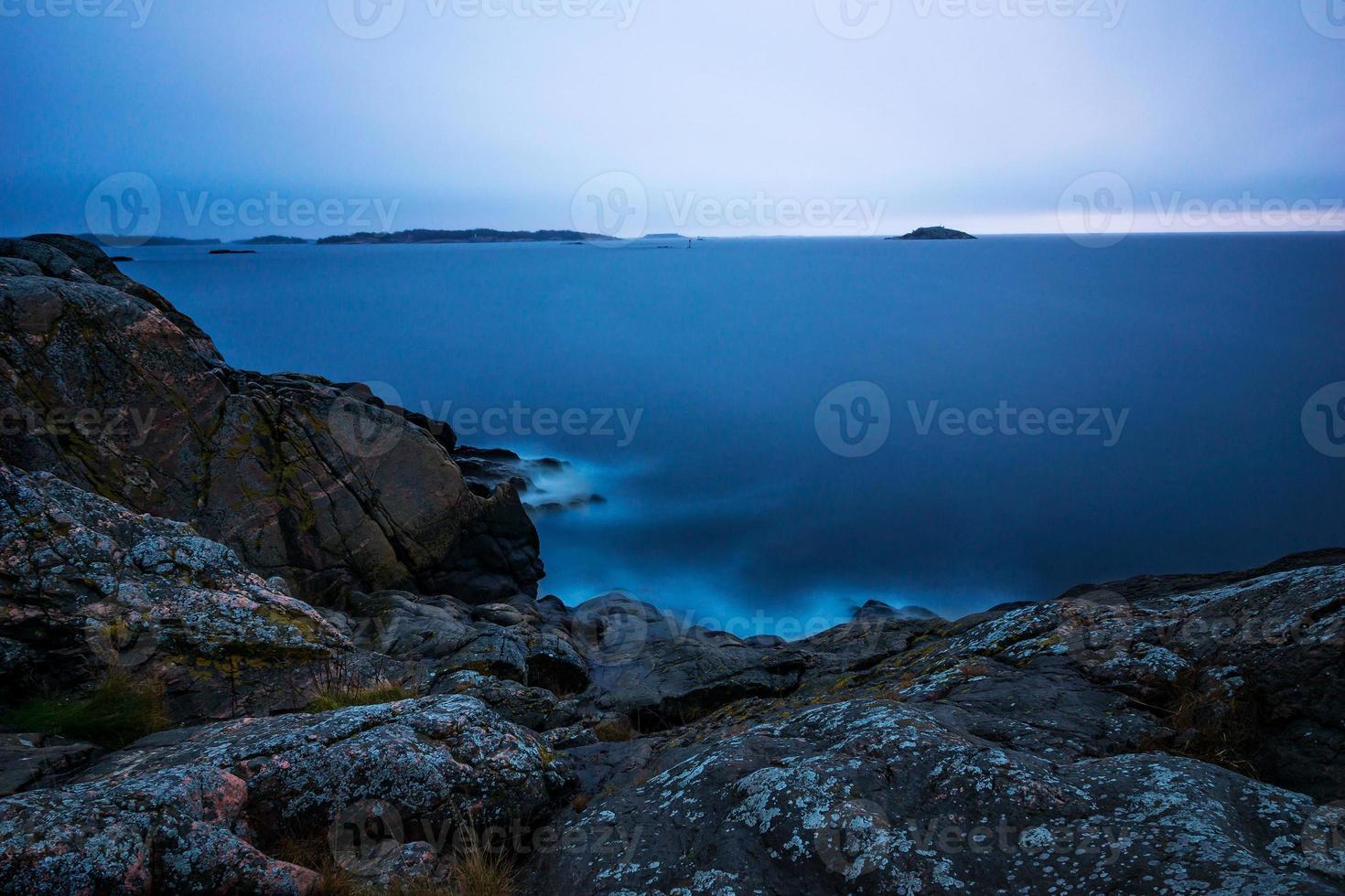 archipel zonsopgang foto