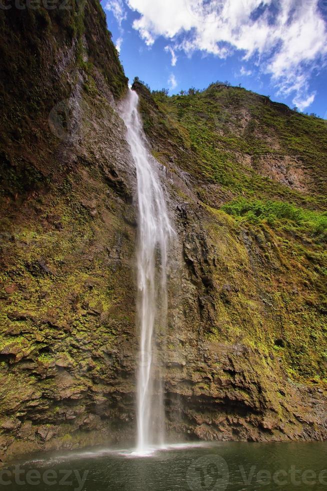 Hanakapi'ai-watervallen, Kauai-eiland foto