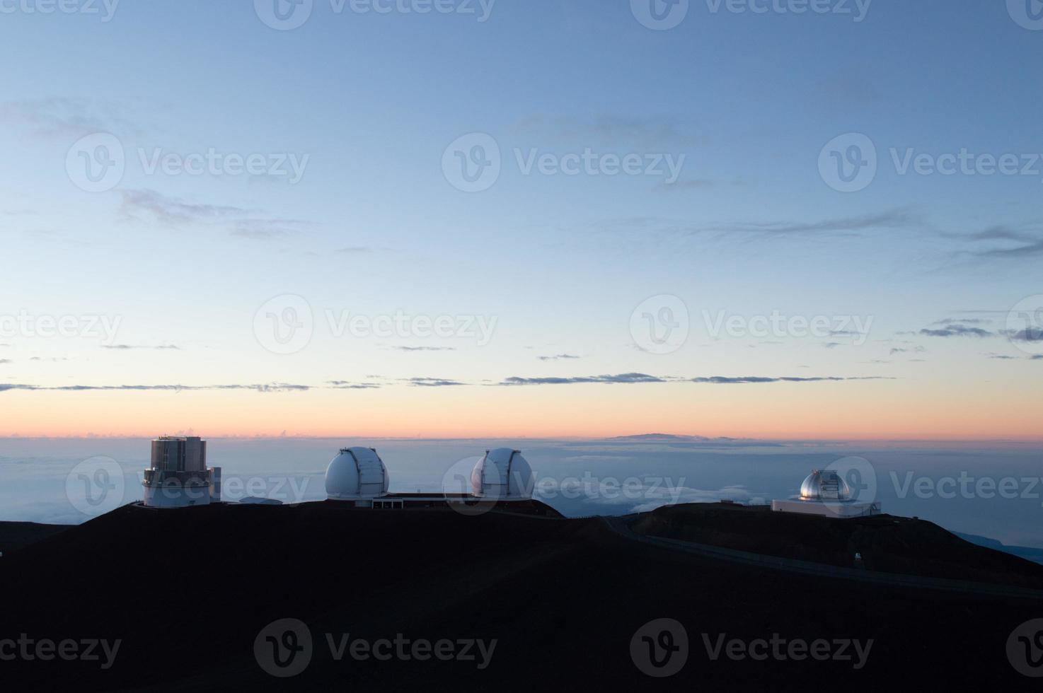 gigantische ruimtetelescoop Hawaï foto