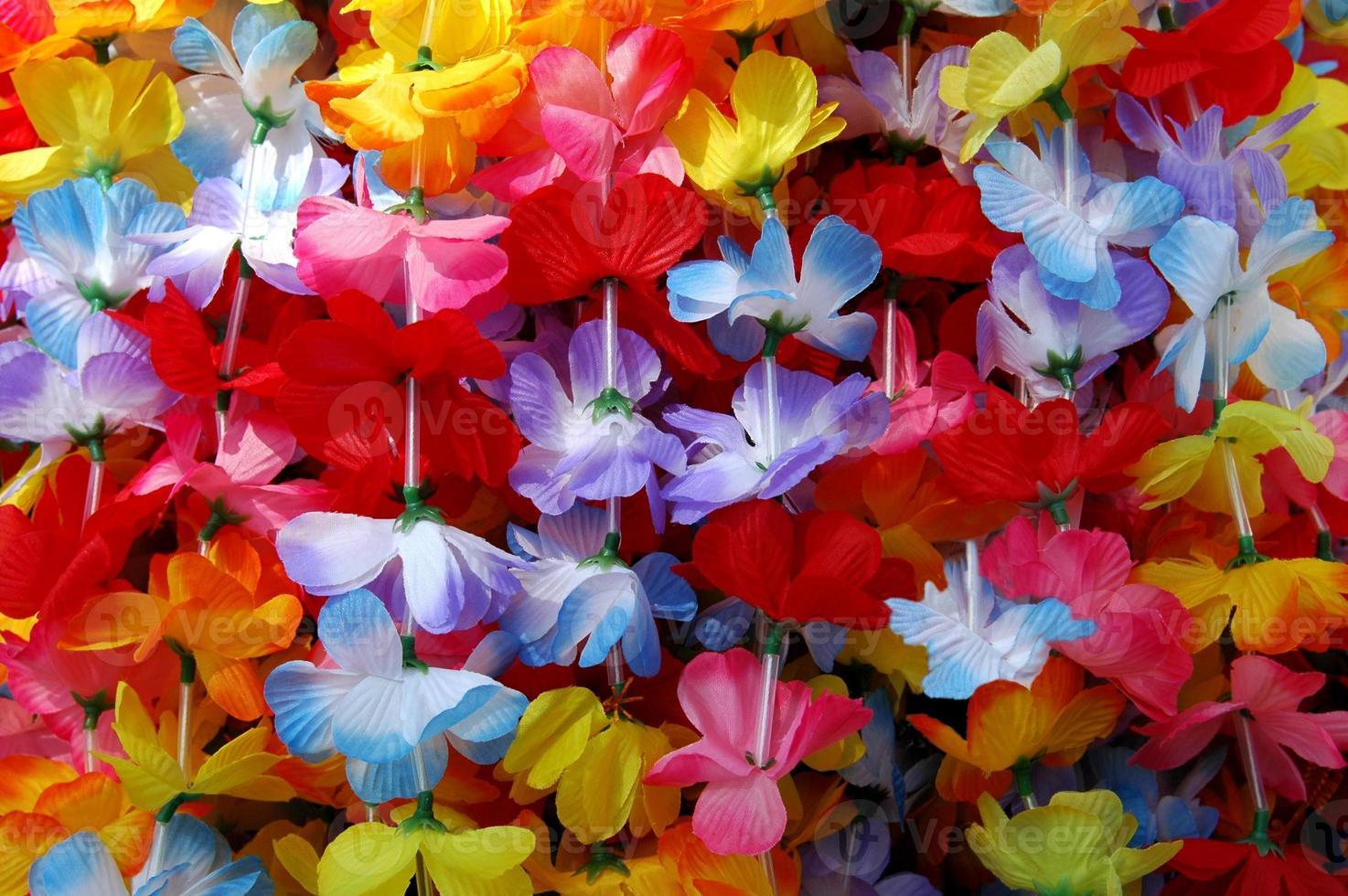 kleurrijke leis foto