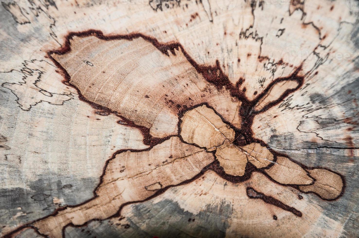 grunge houten textuur die als achtergrond wordt gebruikt foto
