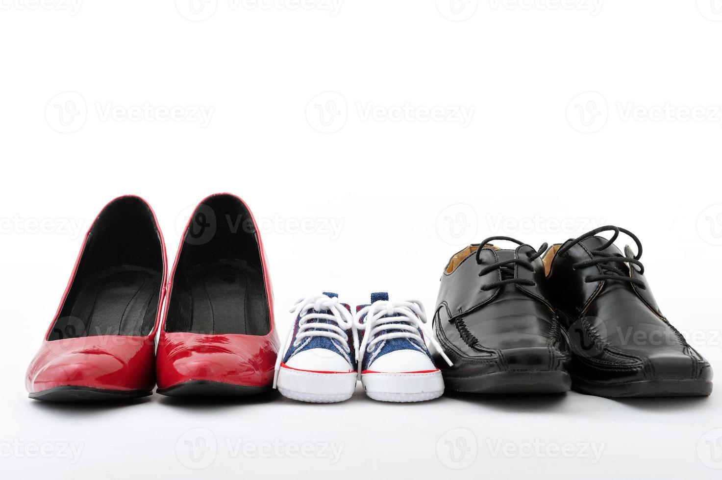 familie schoenen foto