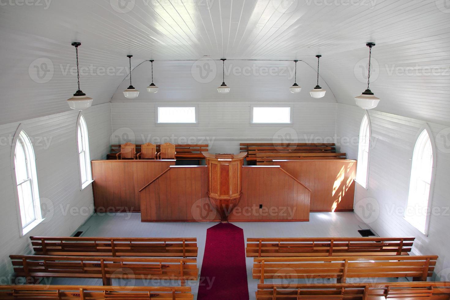 historische houten frame kerk foto