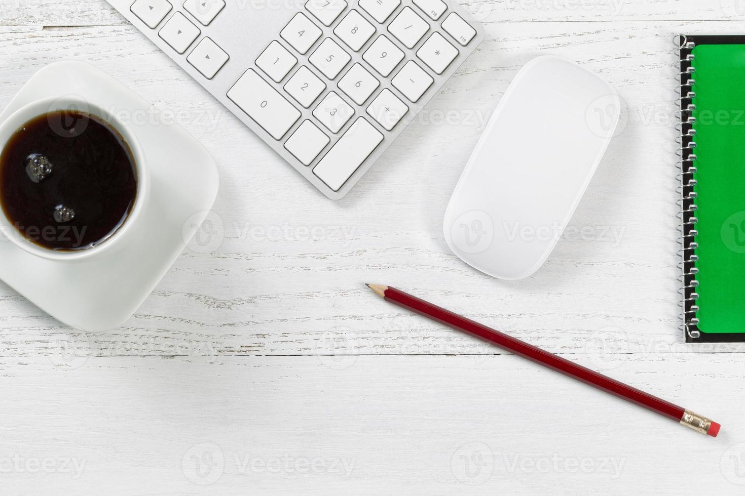 werkende desktop-items foto