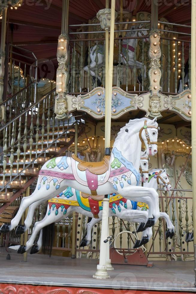 carrousel in Parijs foto