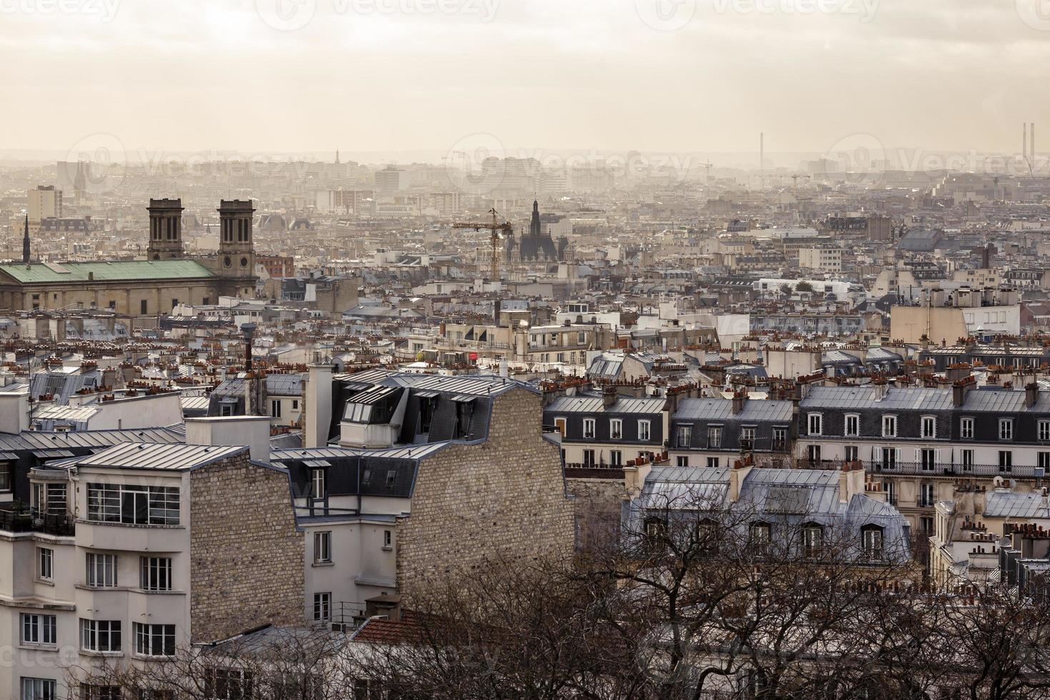 parijs uit montmartre foto