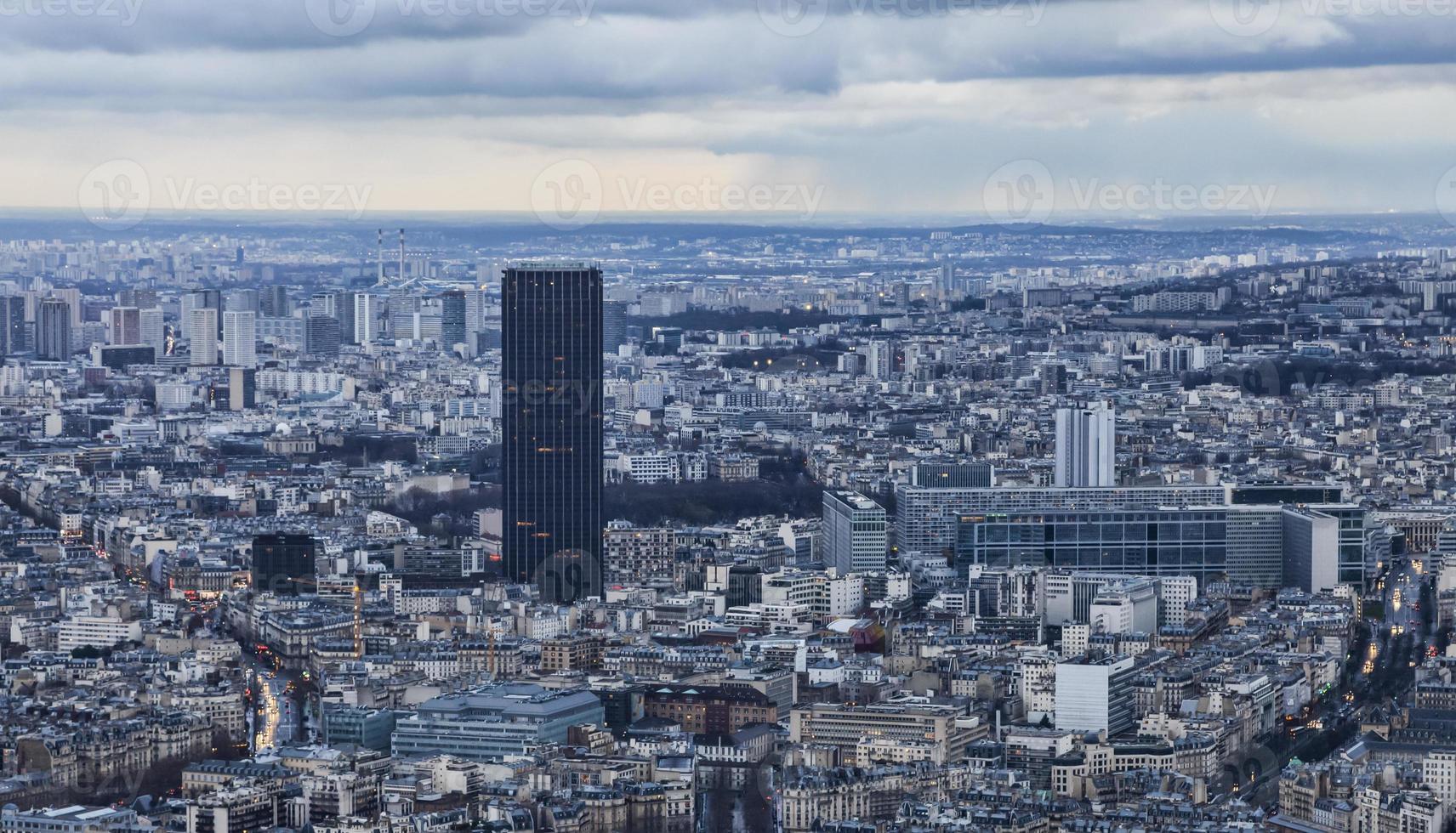 parijs - tour montparnasse foto