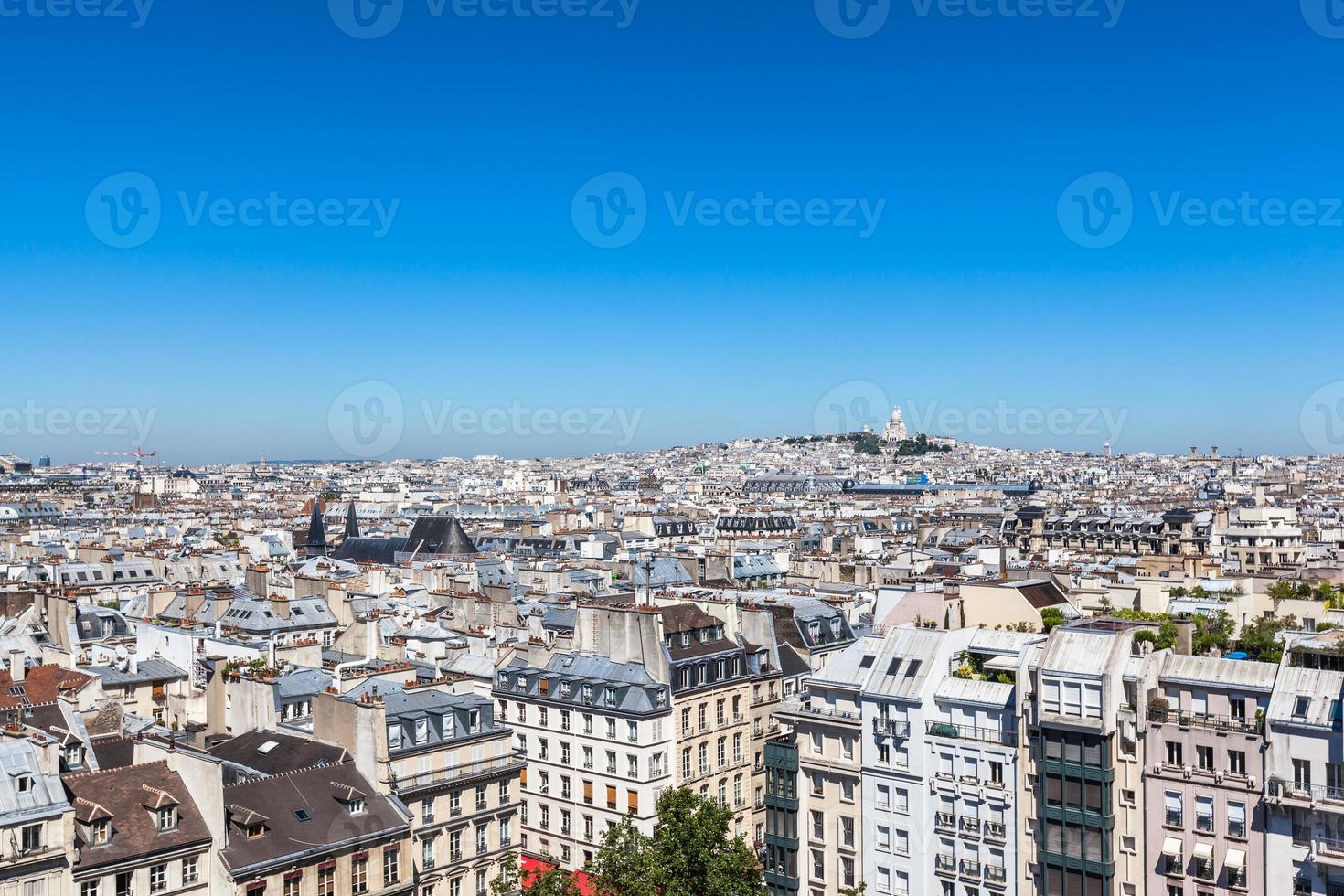 stadsgezicht van Parijs foto