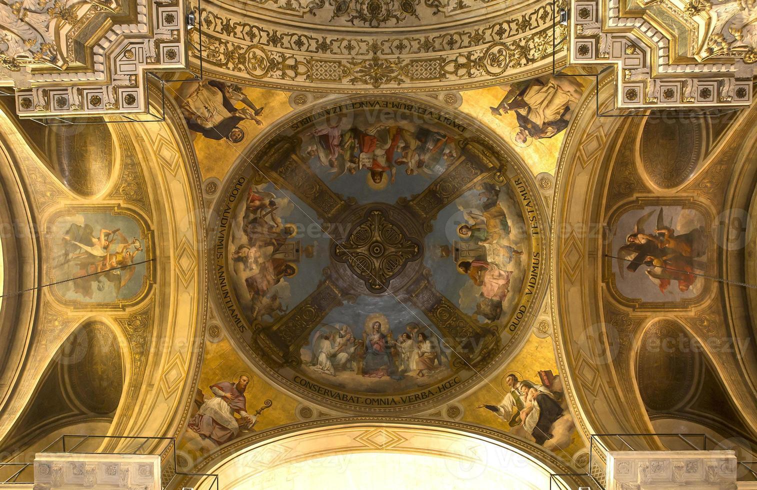 saint thomas d'aquin kerk, paris, frankrijk foto