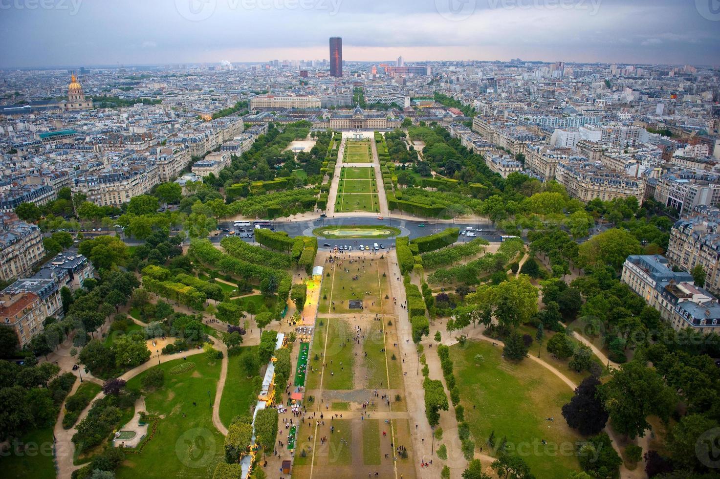uitzicht over Parijs foto