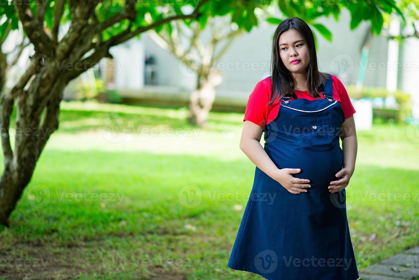 zwangerschap, moederschap en nieuw gezin foto
