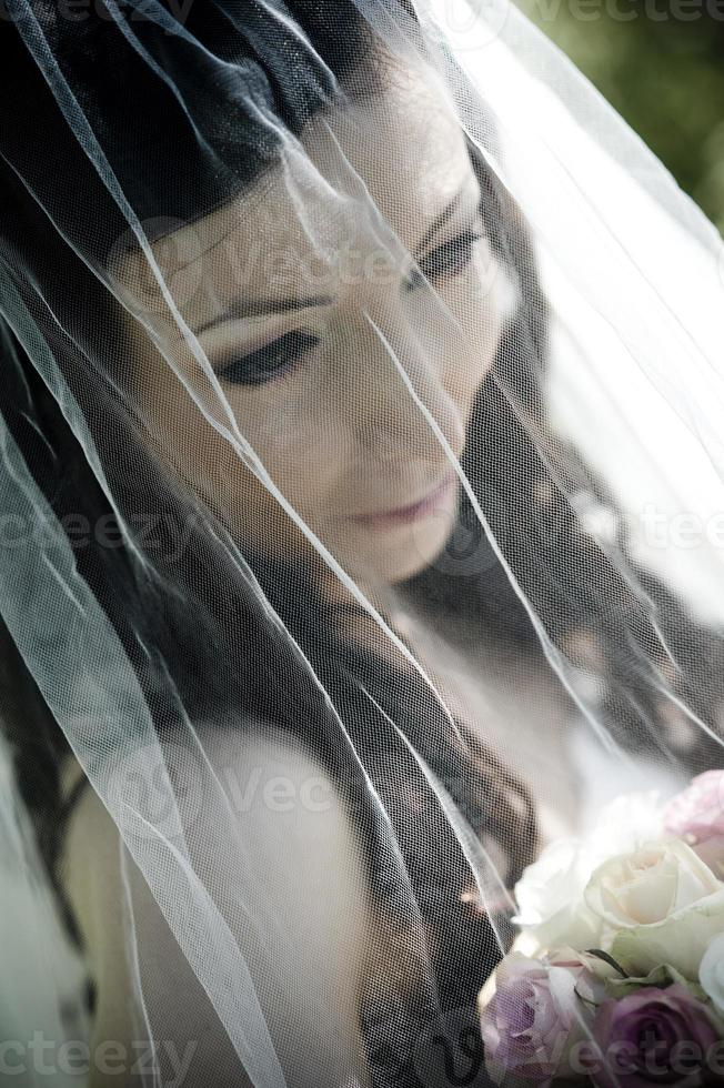 bruid portret foto