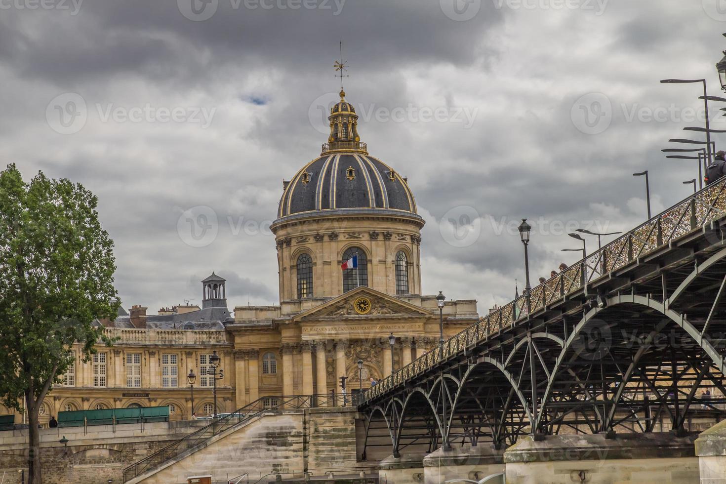 institut de france, parijs foto