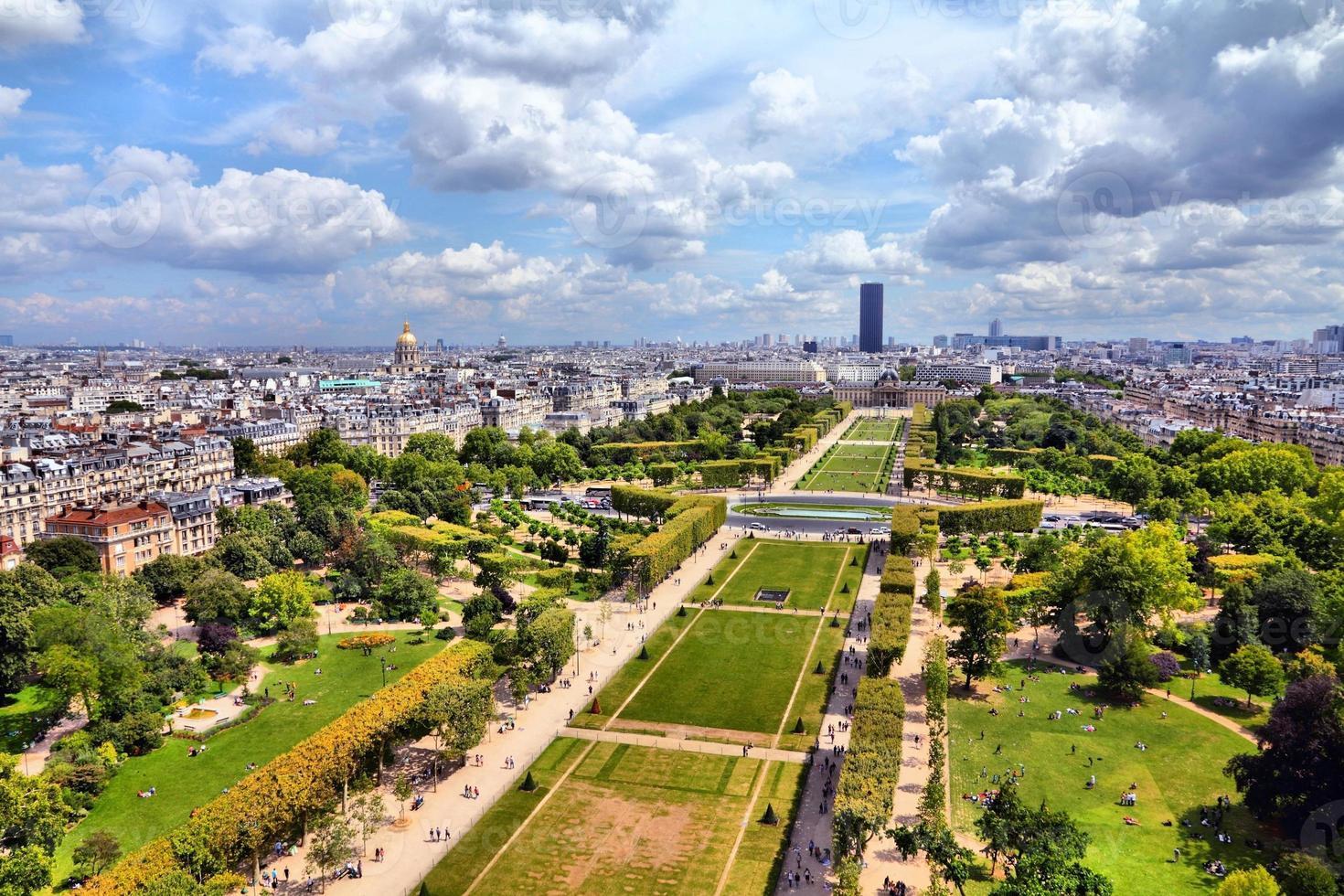 Parijs - veld van mars foto