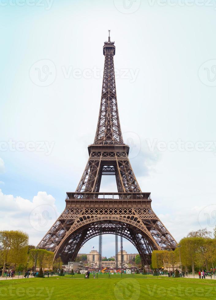 Tour Eiffel in Parijs foto