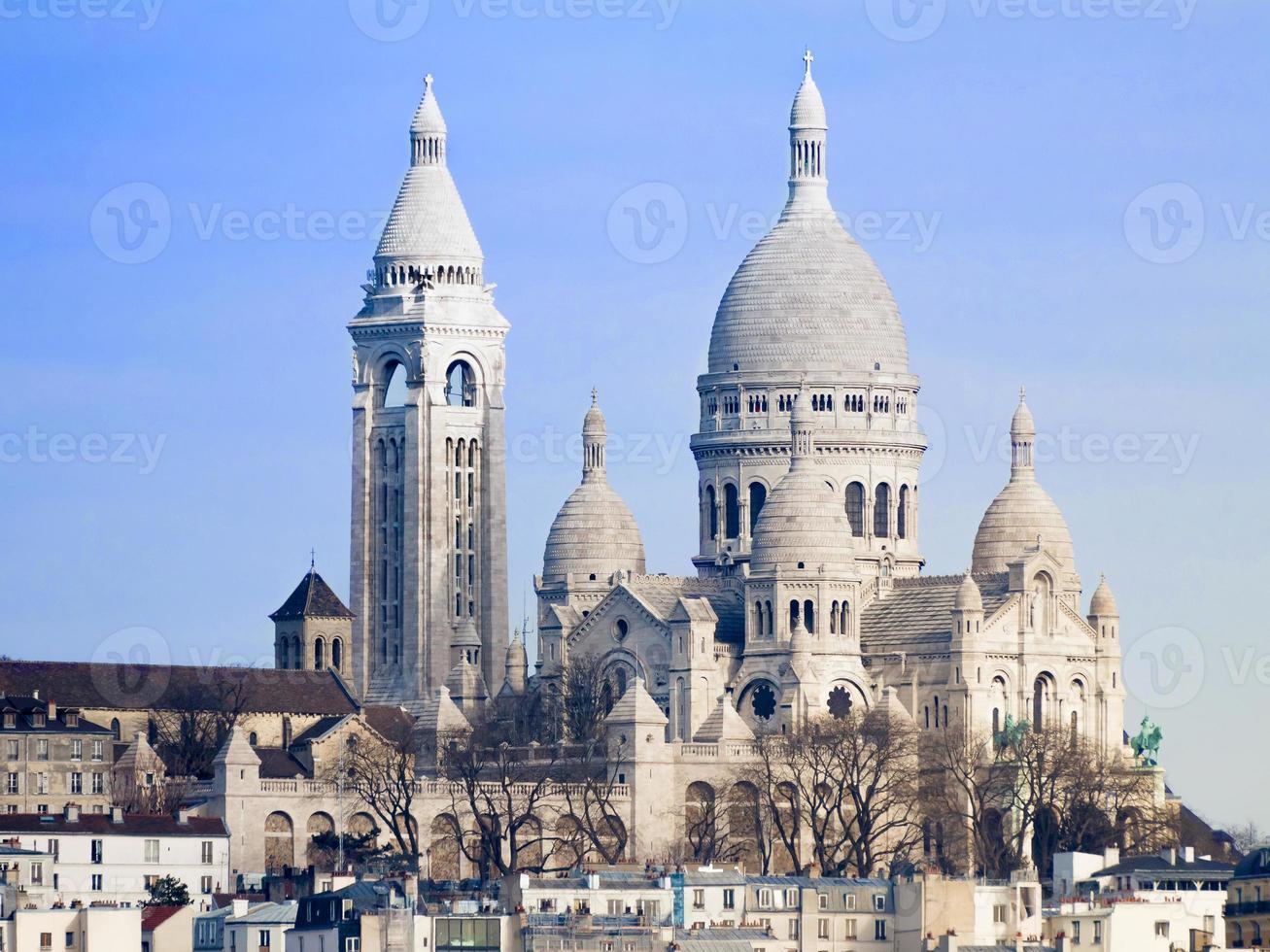 basilica sacre-coeur parijs foto