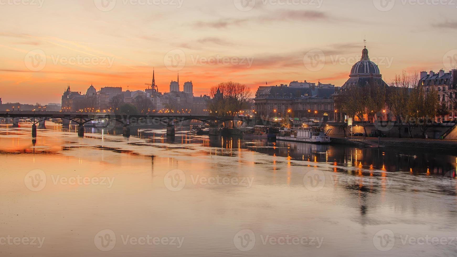 oude stad Parijs (Frankrijk) foto