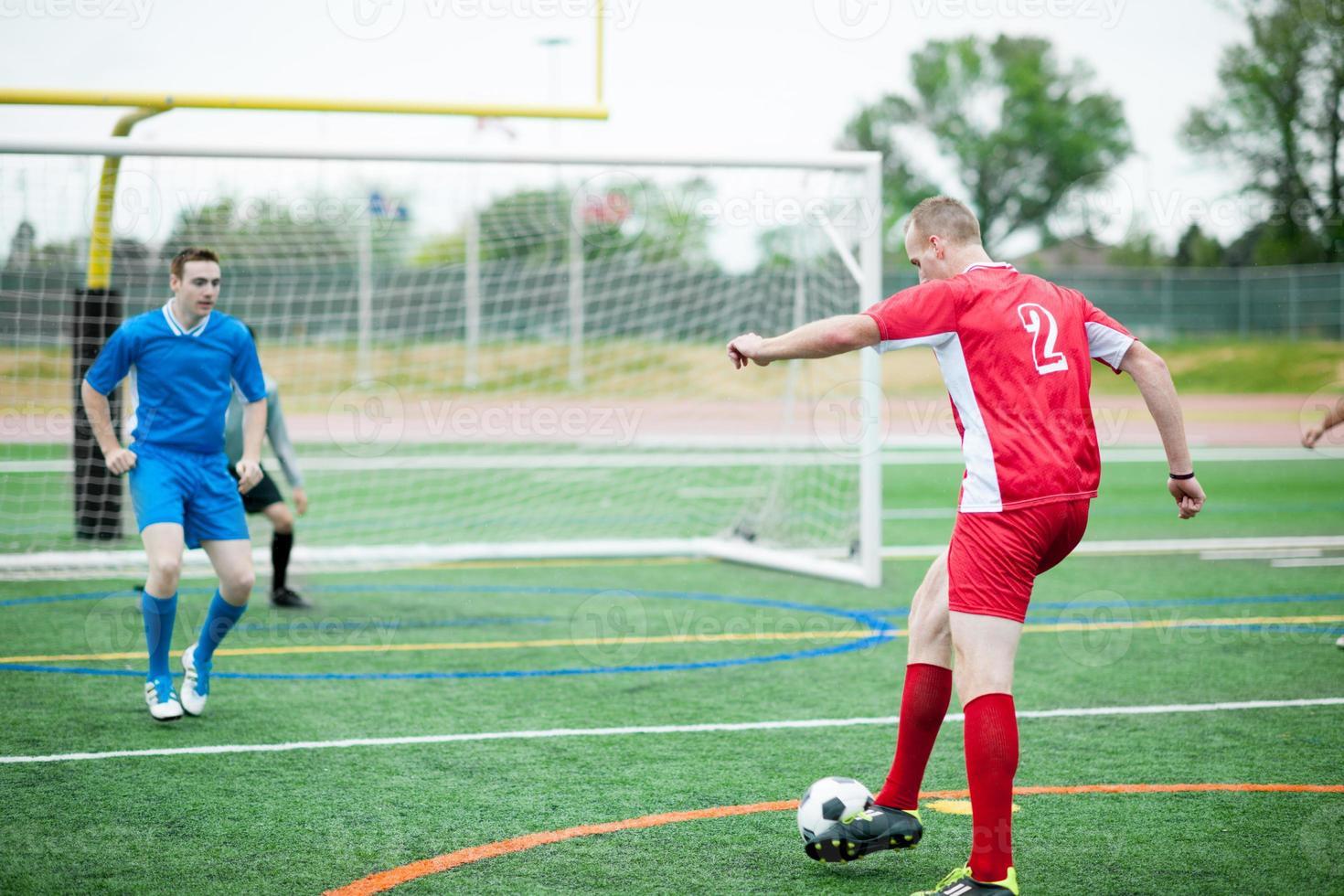 voetbal (voetbal) spelers foto