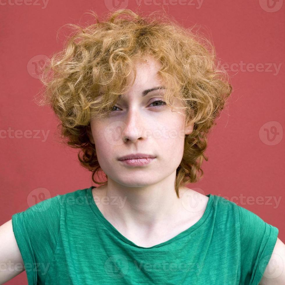 vrouw portret foto