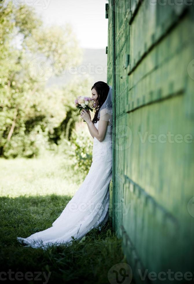 bruids portret foto