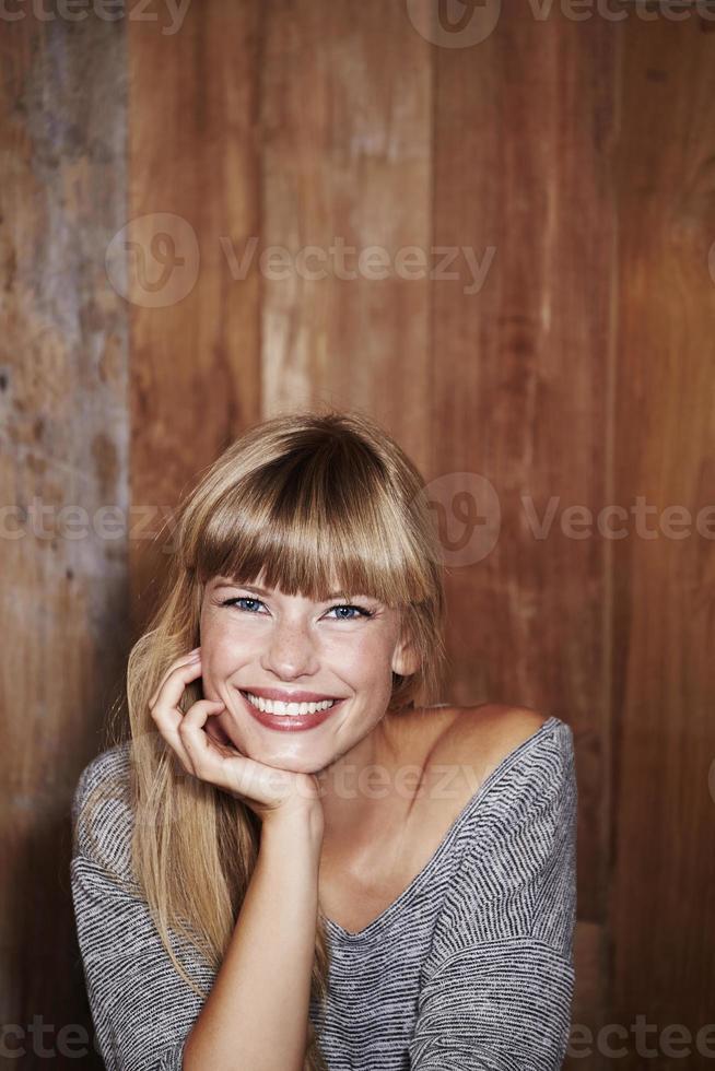 prachtig vrouwenportret foto