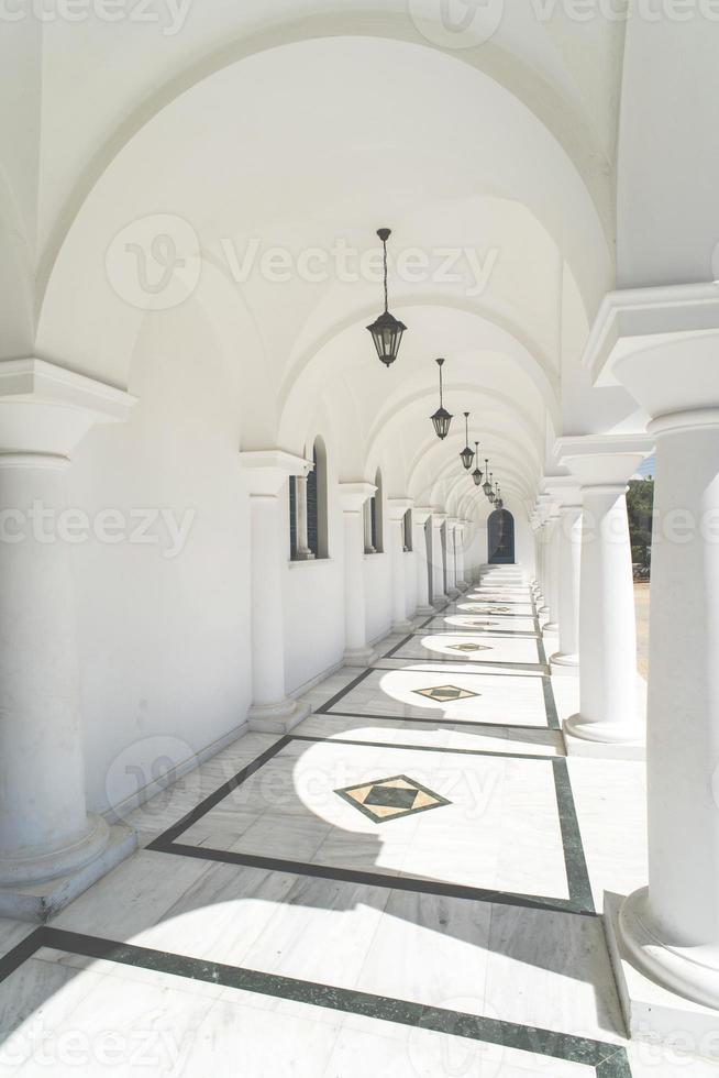 typisch Griekse kerk foto