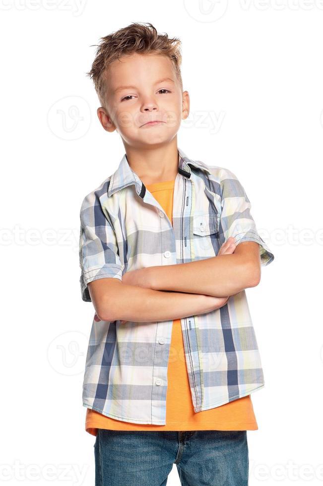portret van jongen foto