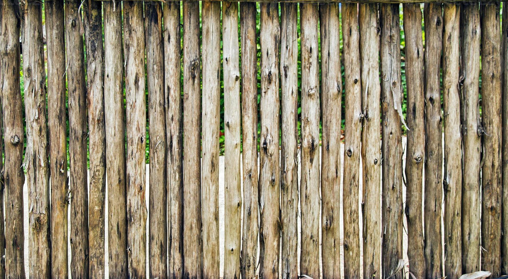 houten hek textuur foto
