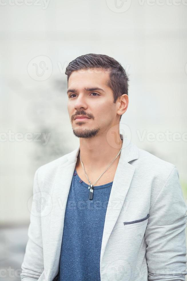 jonge man portret foto