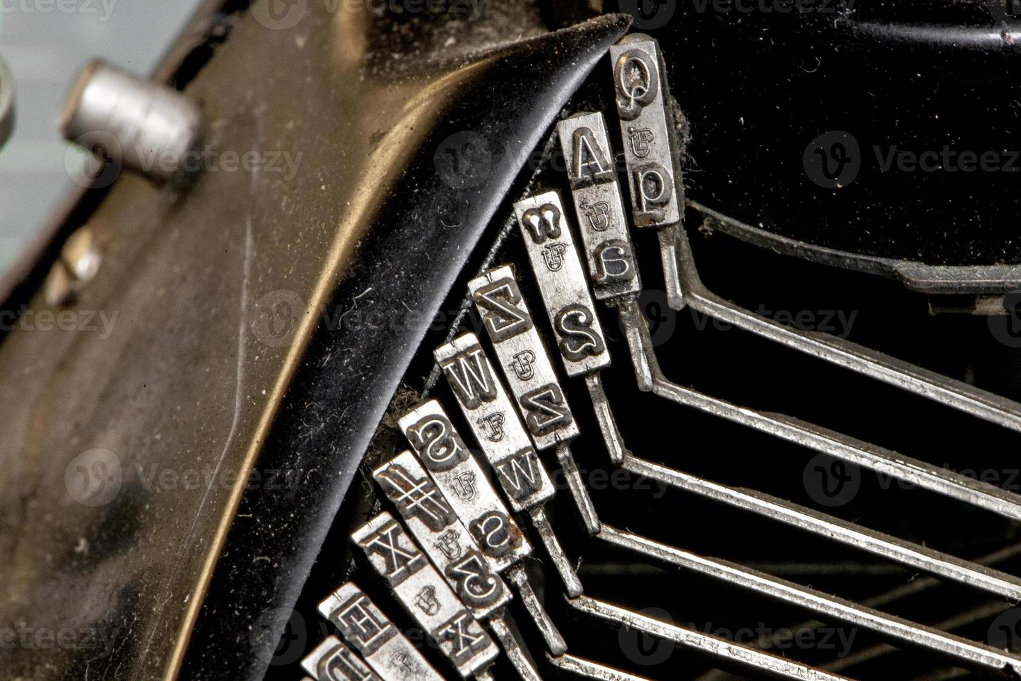 close-up type foto