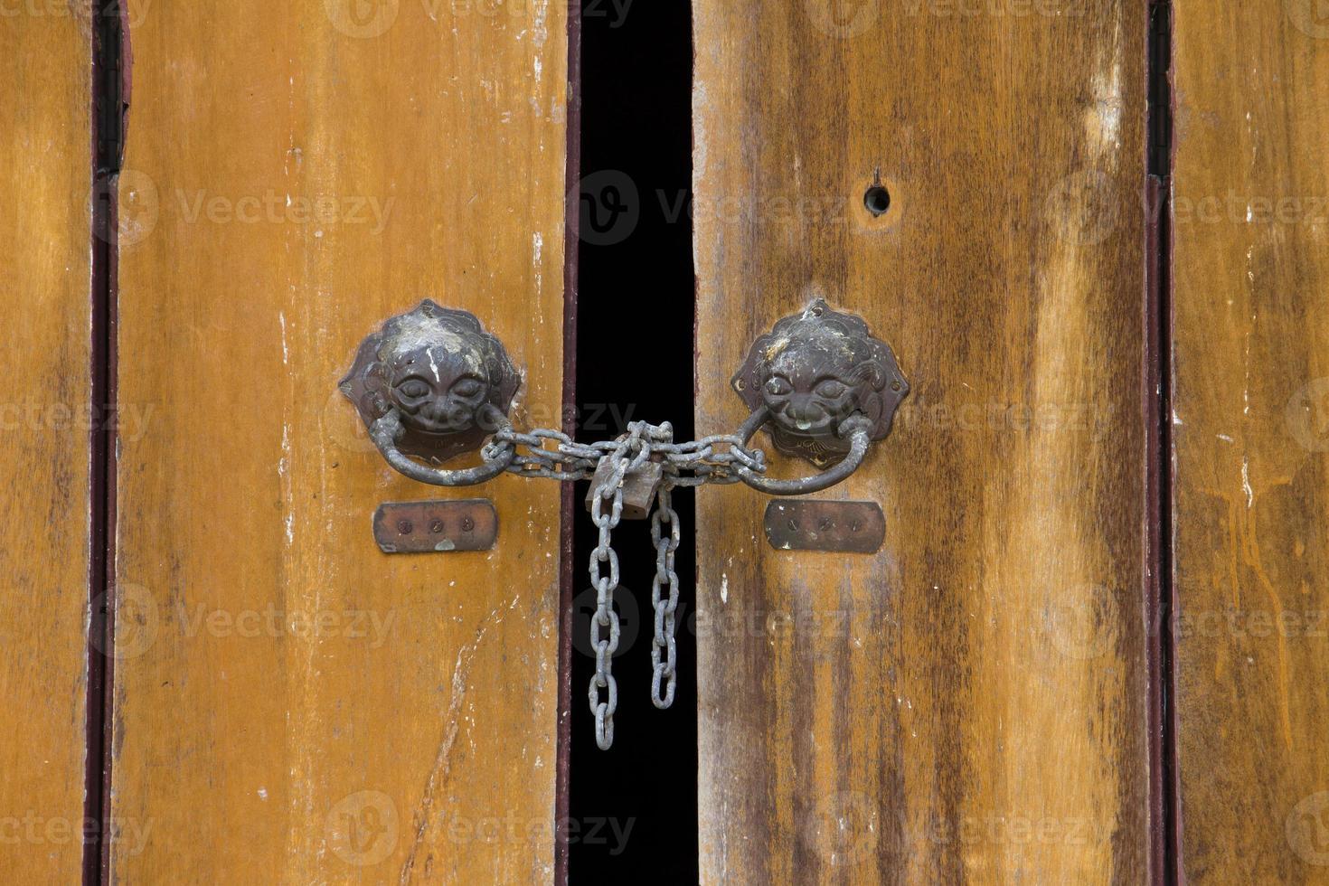 deur close-up foto
