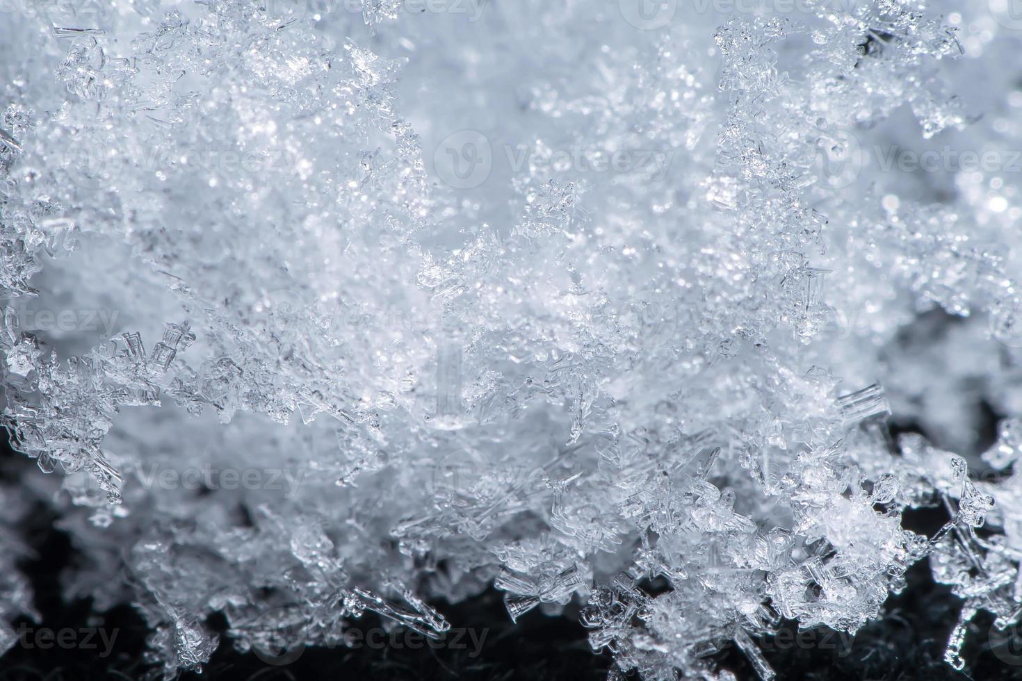 close-up sneeuw foto